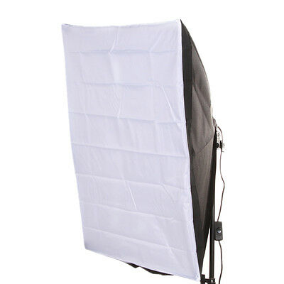 Photo Studio Kit  50*70cm Lighting Softbox+E27 Single Socket Lamp Head US Plug