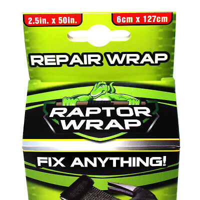 Fibreglass Repair Tape Strong Raptor Wrap Gloves Sandpaper Included Wood Metal