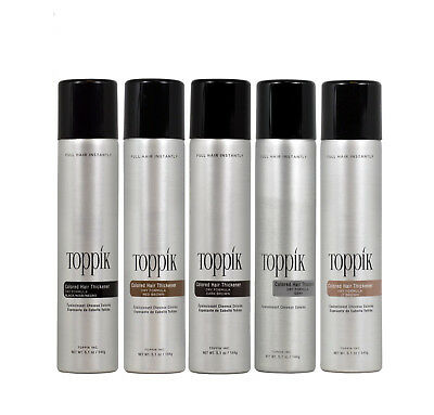 Toppik Colored Hair Thickener 5.1 oz (Pick your color) - New Fullmore!