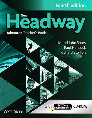 NEW HEADWAY ADVANCED Fourth Edition Teacher's Book with Resource Disc CD-ROM New