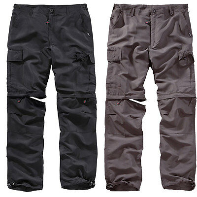 SURPLUS Outdoor Trousers Quickdry S-5XL, Trekkinghose Zip-Off Cargo Hose leicht