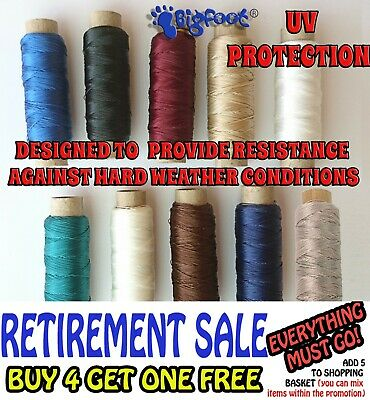 Strong Bonded Polyester Sewing Thread Size 40-Canvas,marine,sailmaking.uv Protec