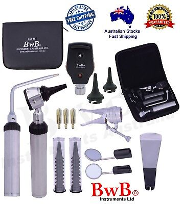 ENT Opthalmoscope Ophthalmoscope Otoscope Nasal Larynx Diagnostic Set YNR-FREE