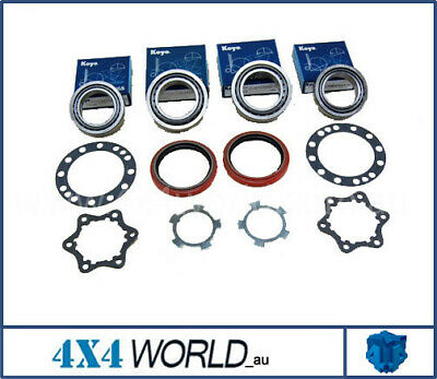 For Toyota Hilux LN106 Wheel Bearing Kits - 2 x Front No IFS
