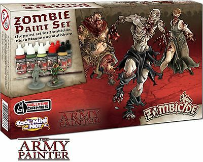 Army Painter Zombicide: Black Plague Paint Set | Farbset, Zombies