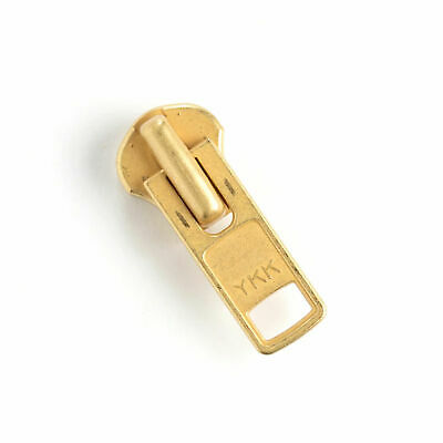 Brass Zipper Locking Pull Size 10 Solid Brass Heavy58102-011 Tandy Leather