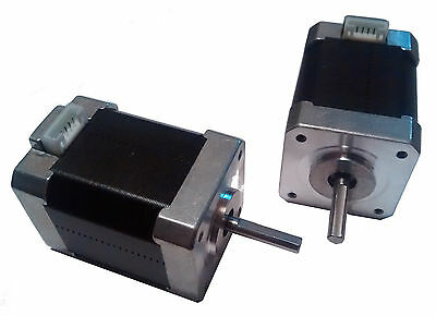 3D Printer High Torque NEMA17 Stepper Motors - 1.8deg - 5mm Shaft - Reprap CNC