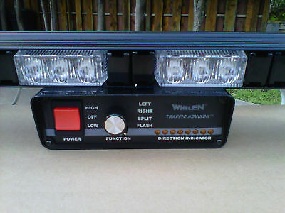 Whelen  Control Box & New  8Led Weather Resistant Traffic Advisor