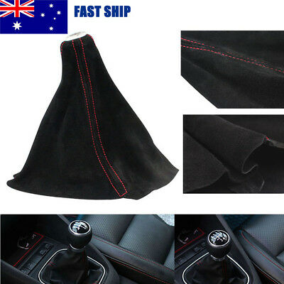 Car Gear Shift Knob Boots Lever Dust Cover Vehicle Frosted Leather Universal