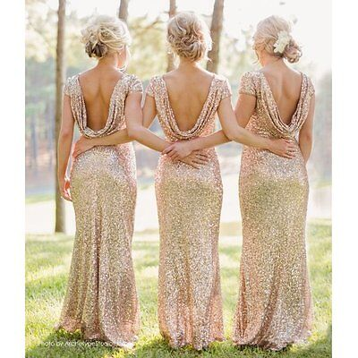 Women Long Maxi Formal Prom Cocktail Party Evening Gown Bridesmaid Bodycon Dress