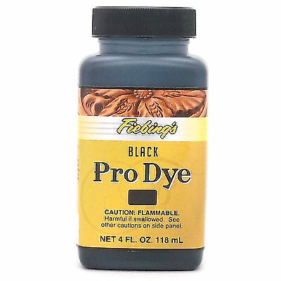 Fiebing's Pro Dye Black 4 oz (118 mL) 2110-01