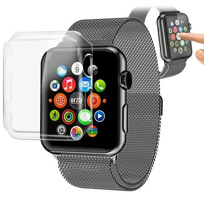 Orzly Invisicase Apple Watch Case Cover for the Apple Watch iWatch 38MM