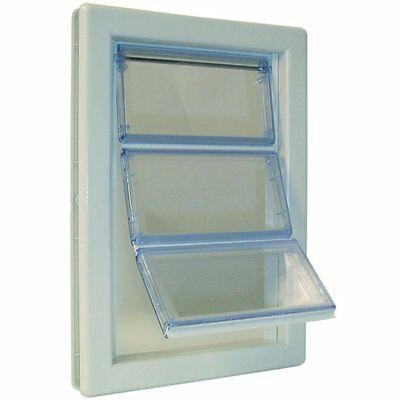 Ideal Pet Air-Seal Pet Doors in Medium or Extra Large Size for energy efficiency