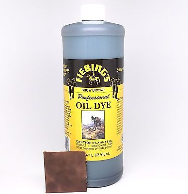 Professional Oil Dye Show Brown 32 oz. (948 mL) 2111-14 by Fiebing's