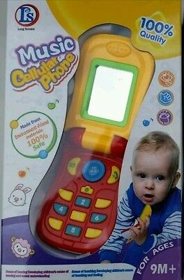 Baby Kid Child Educational Learning Mobile Phone Toy Musical Playing 5 function