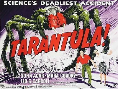 Tarantula Half-Sheet Vintage Movie Poster Lithograph Hand Pulled S2 Art Ltd Ed