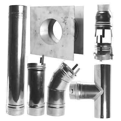 Mr. Heater F102860 4-Inch Horizontal Vent Kit for HSU and MHU Series Heaters