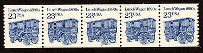 #2464 Lunch Wagon Pl#2 (Dull Gum - Solid Tag) - MNH