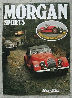 MORGAN SPORTS Autocar & Motor Cycle Special Magazine 1910 to 1975
