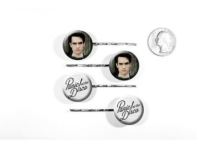 Panic! At The Disco Brendon Urie Rock Band This is Gospel Set of 4 Bobby Pins