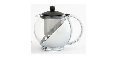 Avanti Black/Chrome Multi Function Teapot 1.2L