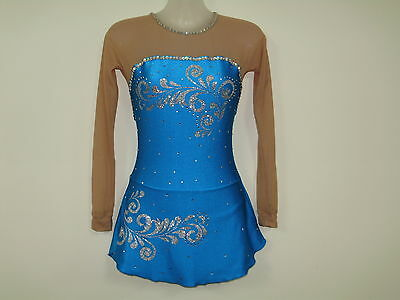 ICE/ DANCE COSTUME/Rhythmic  LADIES xsmall  NEW