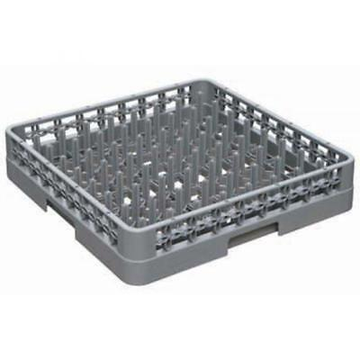 NEW COMMERICAL DISHWASHER PLATE AND TRAY RACK 64 COMPARTMENT 500 x 500
