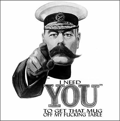 Lord Kitchener Funny Drinks Coasters