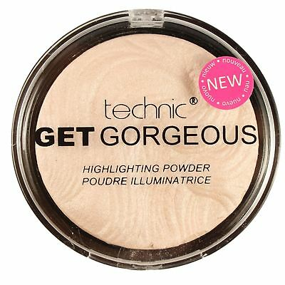 Technic Get Gorgeous Highlighting Illuminating Pressed Powder Face Make Up