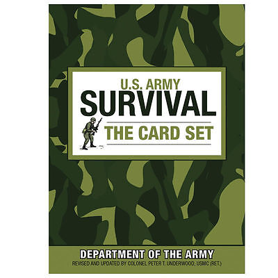 U.s. Army Survival: The Card Set Book