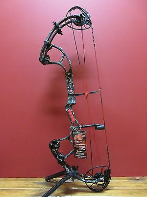 New 2016 Pse Inertia Compound Bow Rh 50-70# New Skullworks 2 Camo 348 Fps Smooth
