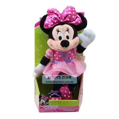 Disney Junior's Minnie Mouse Ballerina Bow-Tique Plush Toy Doll