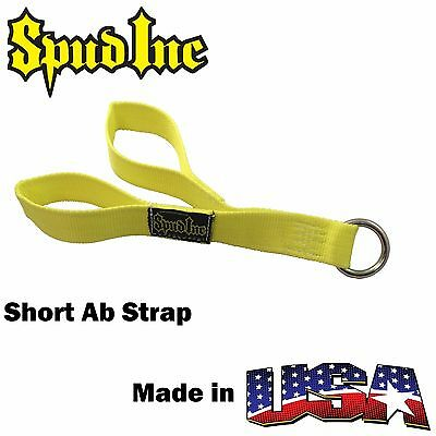 SPUD INC Short Ab Strap Cable Attachment Triceps Biceps Delts Abs