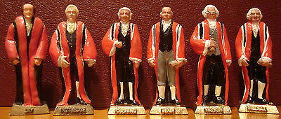 The First Supreme Court - 6 Justice Figurine Set