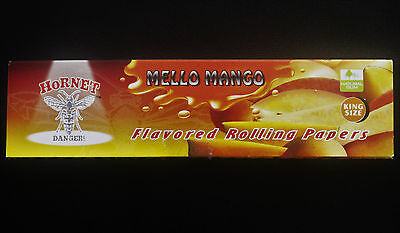 King Sized MELLO MANGO Fruit Flavoured Fruity Tobacco Cigarette Rolling Papers