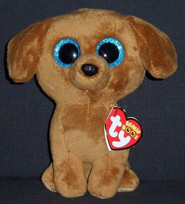 TY BEANIE BOOS - DOUGIE the DACHSHUND DOG - MINT with MINT TAGS