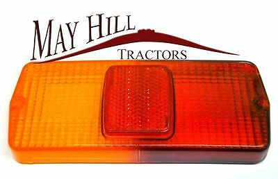 Rear Light Lens to fit, Ford, Massey Ferguson, David Brown Tractor - #2639