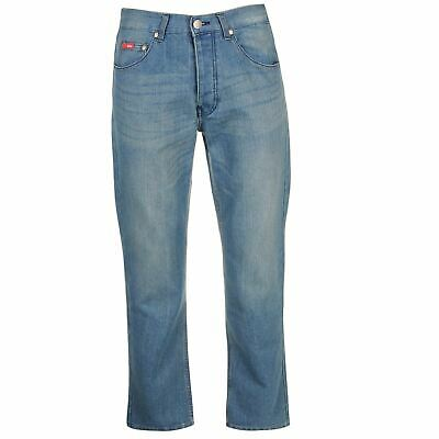 Lee Cooper Regular Jeans Mens Gents