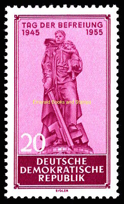 EBS East Germany DDR 1955 10th Anniversary Liberation Nazism Michel 463 MNH**