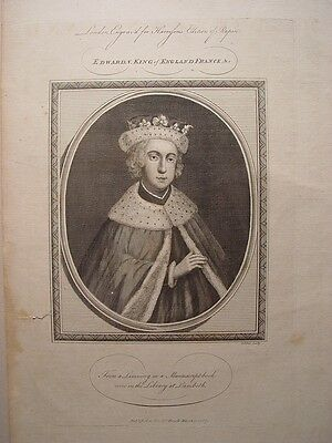 «Edward V. King of England France « Grabado por John Goldar (Oxford 1729-Londres