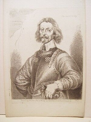 «Sir Jacob Astley» Grabó Prof. Publish´d Aug. 1721. From a Plate by Worlidge by