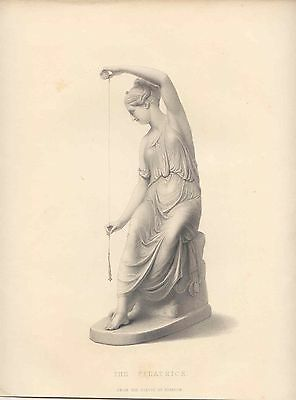 «The filatrice» from the statue by Schadow