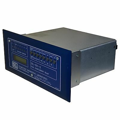 Sel-501-2 Sel Schweitzer Engineering Laboratories Dual Overcurrent Relay--Sa