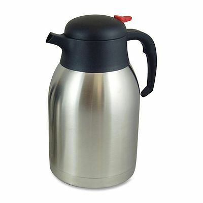 Genuine Joe Double Wall Stnls Vacuum Insulated Carafe - GJO11956