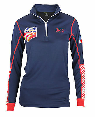 Helly Hansen Women's United States Ski Team USST Active Flow 1/2 Zip Pullover