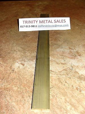 """1/8"""" X 1"""" X 12"""" Brass Flat Bar C360 Best Rated Seller Discounted Item!"""