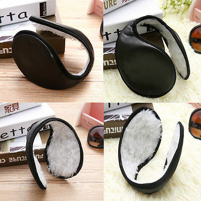 New Ear Muffs Winter Ear Warmers Fleece Earwarmer Men Women Behind the Head Band
