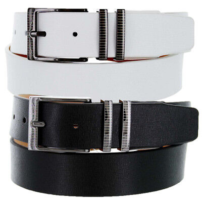 a810693066c1 PGA TOUR Leather White Perforated Belt 35MM Men s Golf New - Choose ...