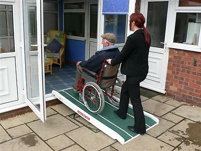 Jetmarine Standard Wheelchair/Mobility Scooter Access Ramp without Handrail