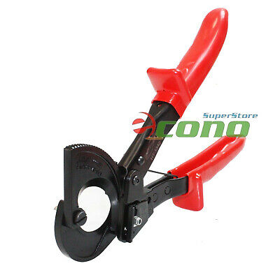 Ratcheting Wire Cut Steel Jaw Cable Cutter Ratchet Cable Cutter Cut Up To 240mm2